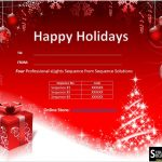 3 Sequence Gift Certificate